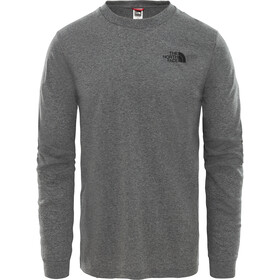 The North Face Simple Dome LS Tee Men tnf medium grey heather